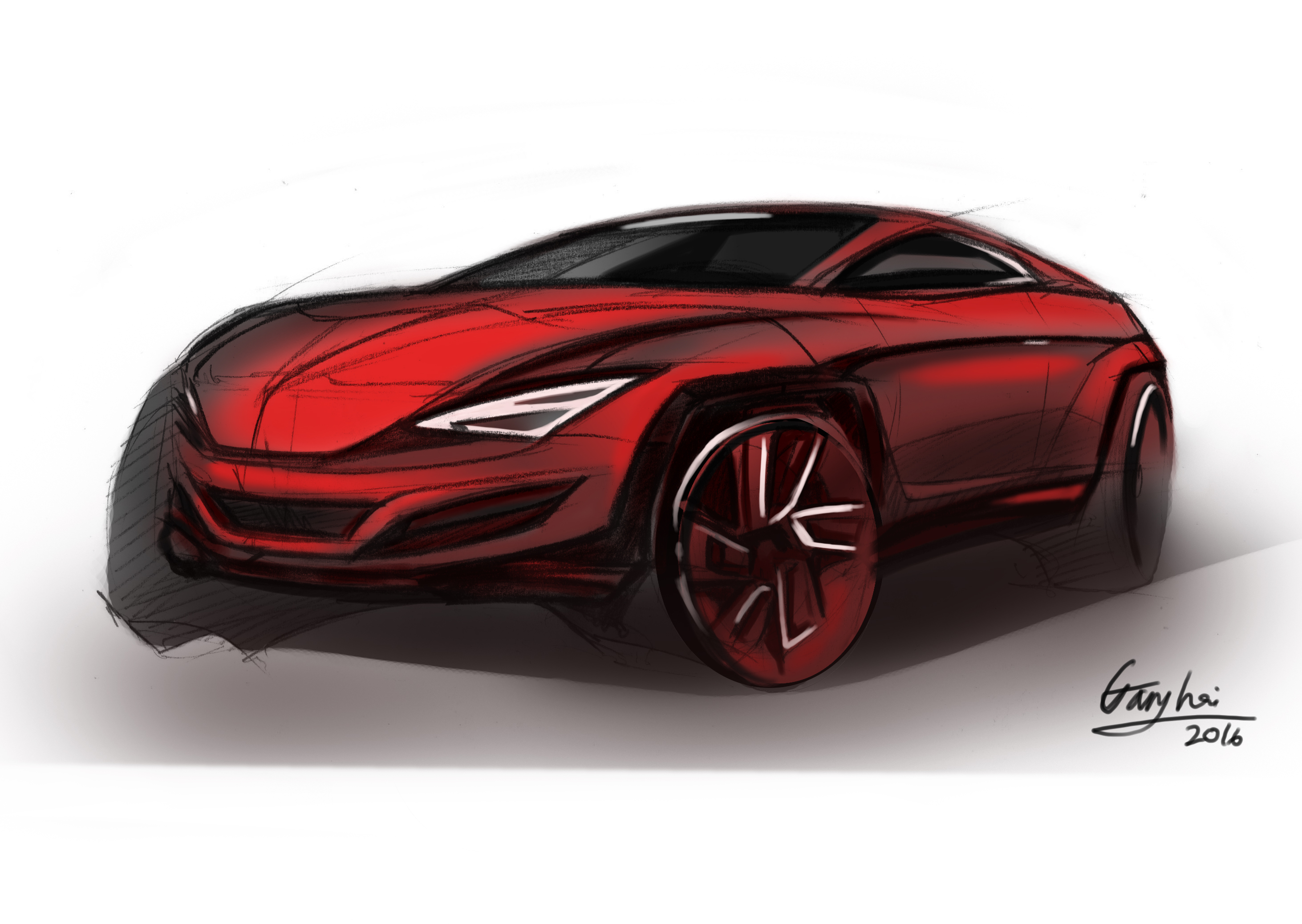 Suv Compact Crossover Sketch Davidson Automotive